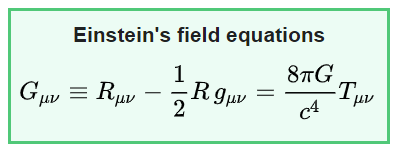 Equations Of General Relativity Theory By Einstein | Space.com Forums